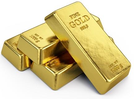 Ouro em estado sólido. Foto: Sashkin / Shutterstock.com
