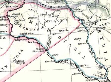Mapa da Mesopotâmia. (William Robert Shepherd / via Wikimedia Commons)