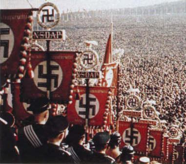 A suástica era o símbolo Nazista