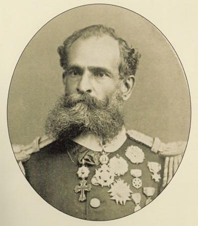 Marechal Deodoro da Fonseca. Foto: Albert Henschel (1881) / via Wikimedia Commons