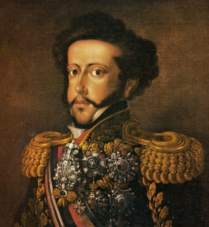Dom Pedro I, Imperador do Brasil entre 1822 e 1831.