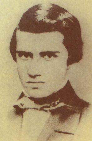 Foto do escritor Álvares de Azevedo.