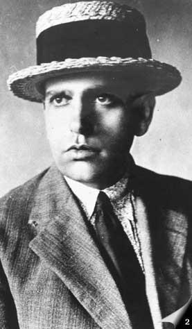 Oswald de Andrade, 1920.
