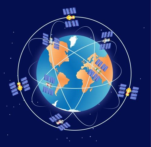 Sistema de Posicionamento Global. Ilustração: Designua / Shutterstock.com