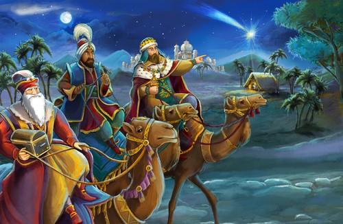 Os três reis magos. Foto: Maciej Sojka / Shutterstock.com