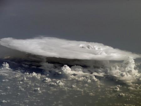 Cumulonimbus. Foto: NASA