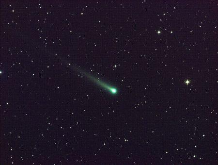 Cometa ISON, fotografado em 2013 pela NASA. Passou a uma distância de 156 milhões de km da Terra. Foto: NASA.