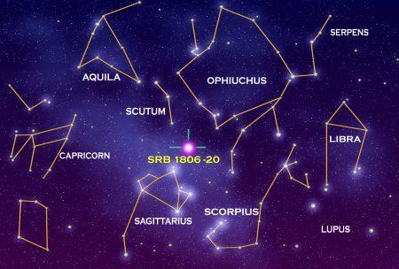 Algumas constelações. Ilustração: NASA.
