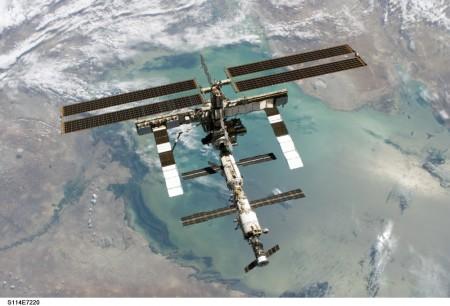 Estação Espacial Internacional. Foto: NASA