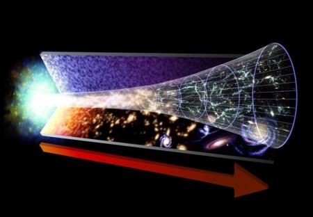 O big-bang é a teoria mais aceita sobre o surgimento das estrelas e galáxias. Ilustração: NASA