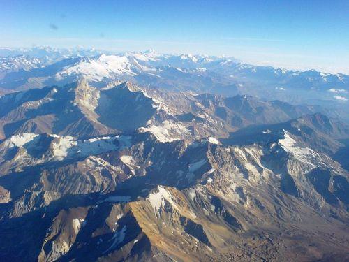 Cordilheira dos Andes. Foto: Jorge Morales Piderit [Public domain], via Wikimedia Commons