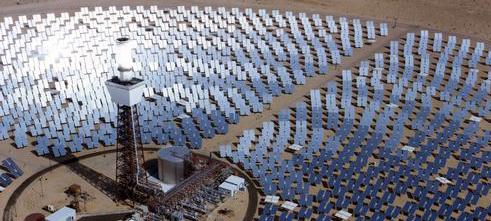 Planta de produção de energia solar nos EUA. Foto:  U.S. Department of Energy.