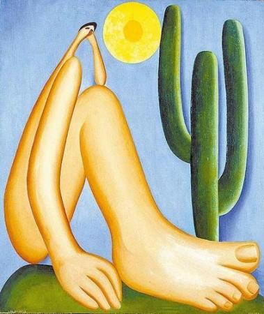 Abaporu, pintura de Tarsila do Amaral, 1929.