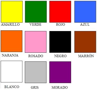 los-colores