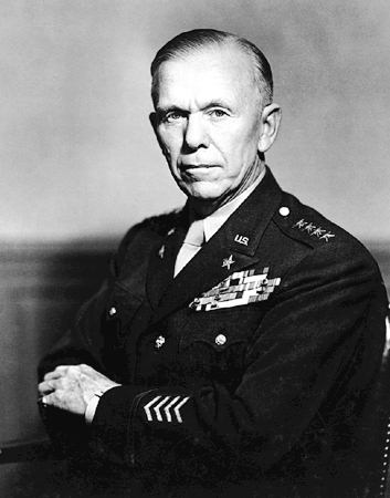 George Marshall. Foto: Norway US Embassy.