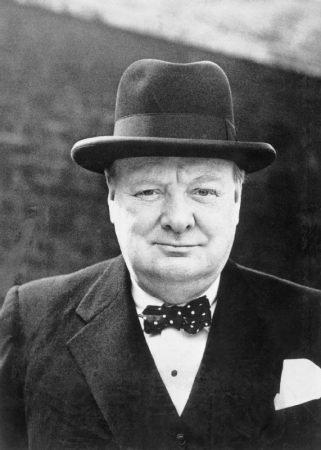 Winston Churchill em 1944. Foto: Wikimedia Commons