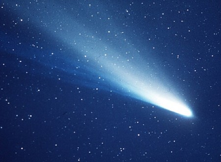 Cometa Halley. Foto:  ESA/Sociedade Max Planck