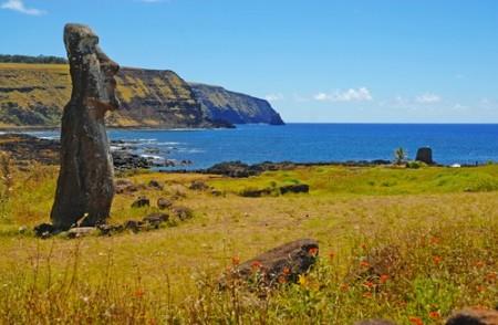 Ilha de Páscoa. Foto: Robert Cicchetti / Shutterstock.com