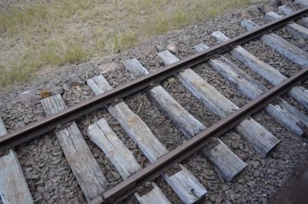 Trilhos de uma ferrovia. Foto: © Lucas Martins / InfoEscola