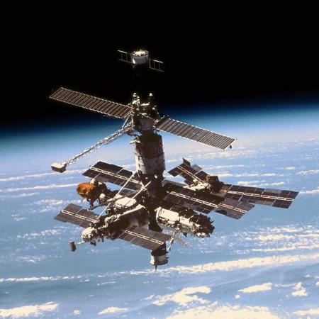 Estação Espacial MIR. Foto: NASA