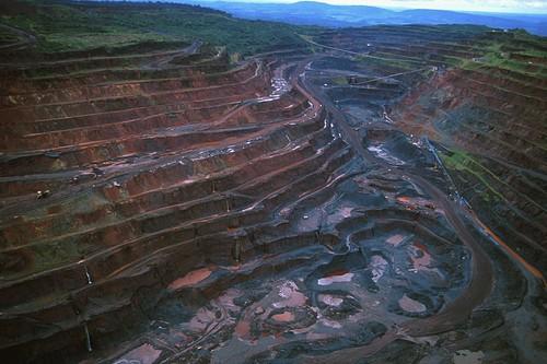 Mina de extração de Ferro Carajás. Foto: T photography / Shutterstock.com