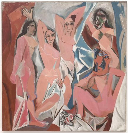 """Obra """"Les Demoiselles d'Avignon"""", de Pablo Picasso (1907)."""