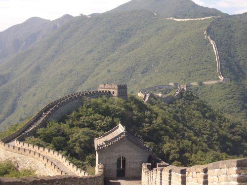 Grande Muralha da China. Foto: Ahazan [Public domain], via Wikimedia Commons