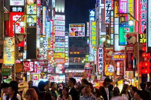 Poluição visual. Osaka - Japão. Foto: Perati Komson / Shutterstock.com