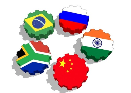 Países do BRICS. Ilustração: GrAl / Shutterstock.com