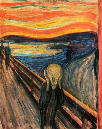 O Grito, pintura de Edvard Munch (1893).