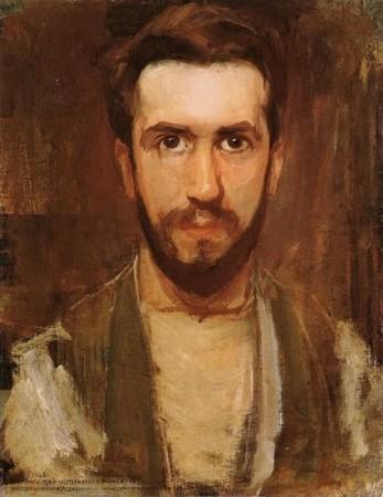 Auto-retrato de Piet Mondrian, aprox. 1900. Fonte: Wikimedia Commons