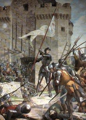 Joana D'Arc (Ilustração: Jules Eugène Lenepveu - 1886-1890)