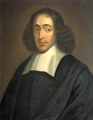 Baruch Spinoza, 1665. Pintura de autor desconhecido.