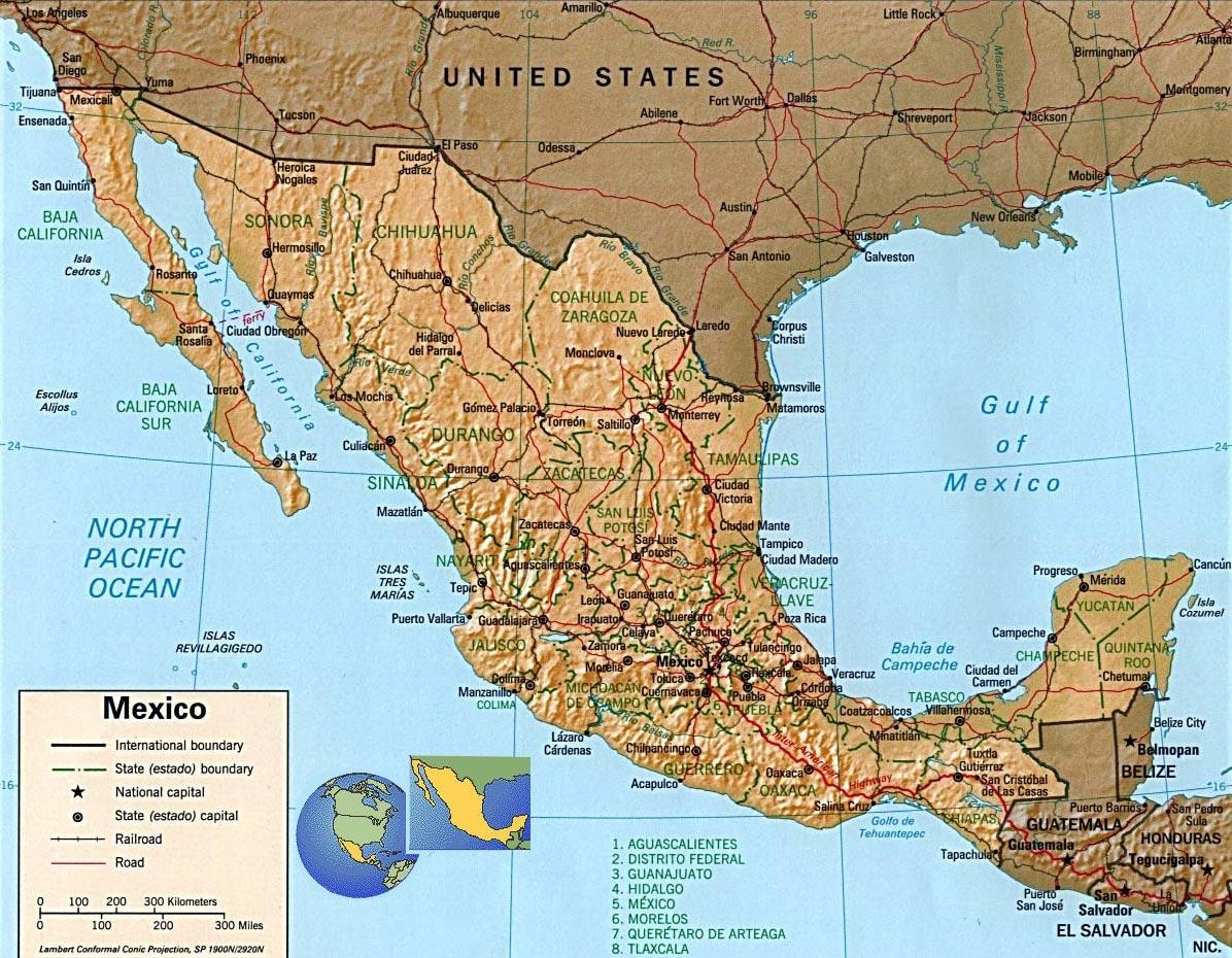 Geografia do México - InfoEscola