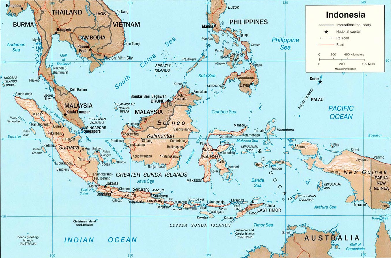 Geografia da Indonésia