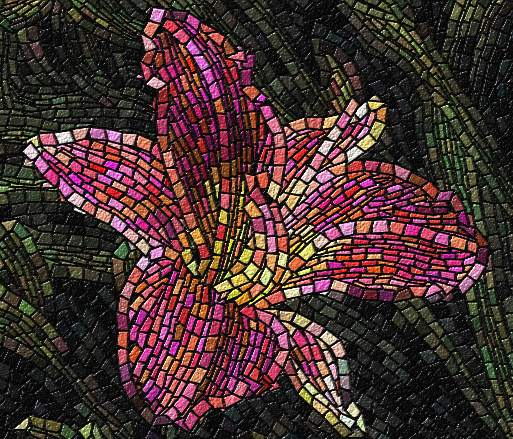 Mosaicos arte em mosaico e fotos arte musiva infoescola for El mural de mosaicos