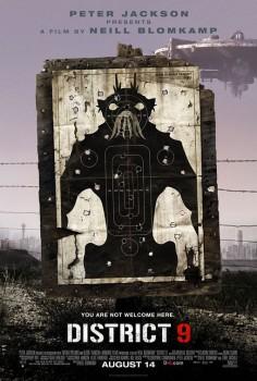 distrito 9 poster