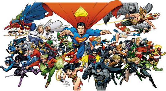 herois dc comics