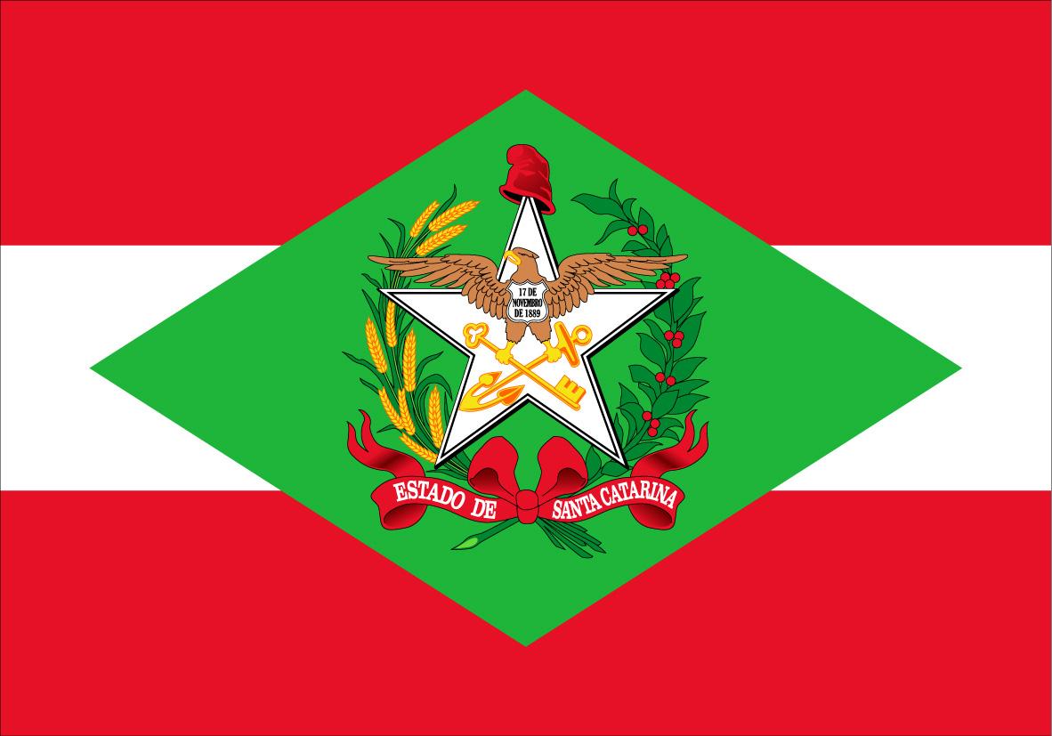 Resultado de imagem para bandeira santa catarina