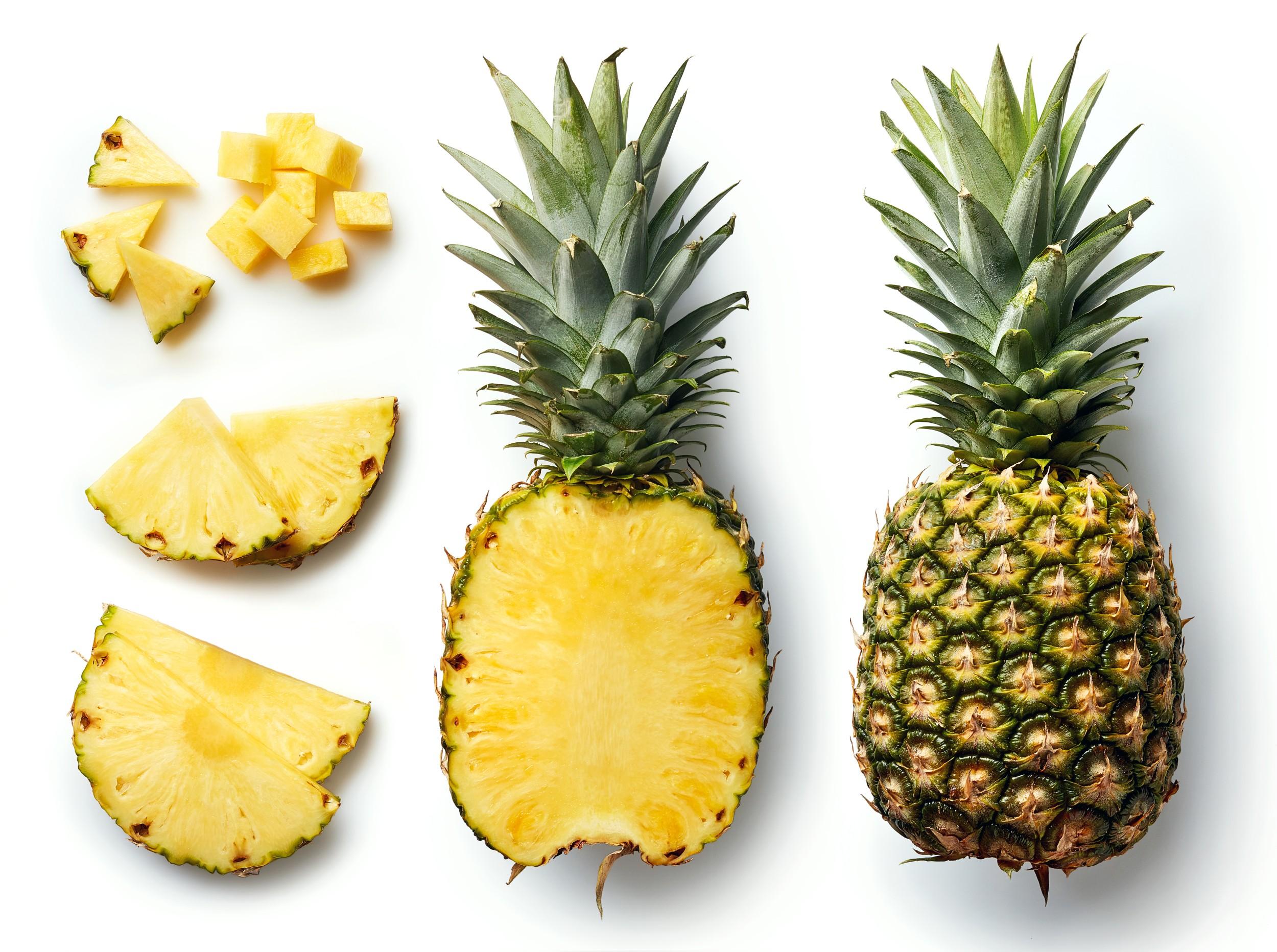 Abacaxi anan s frutas infoescola - Conservation ananas coupe ...