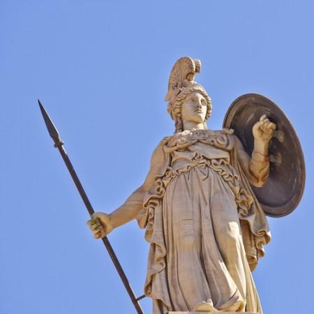 Deusa grega Atena. Foto: Dimitrios / Shutterstock.com