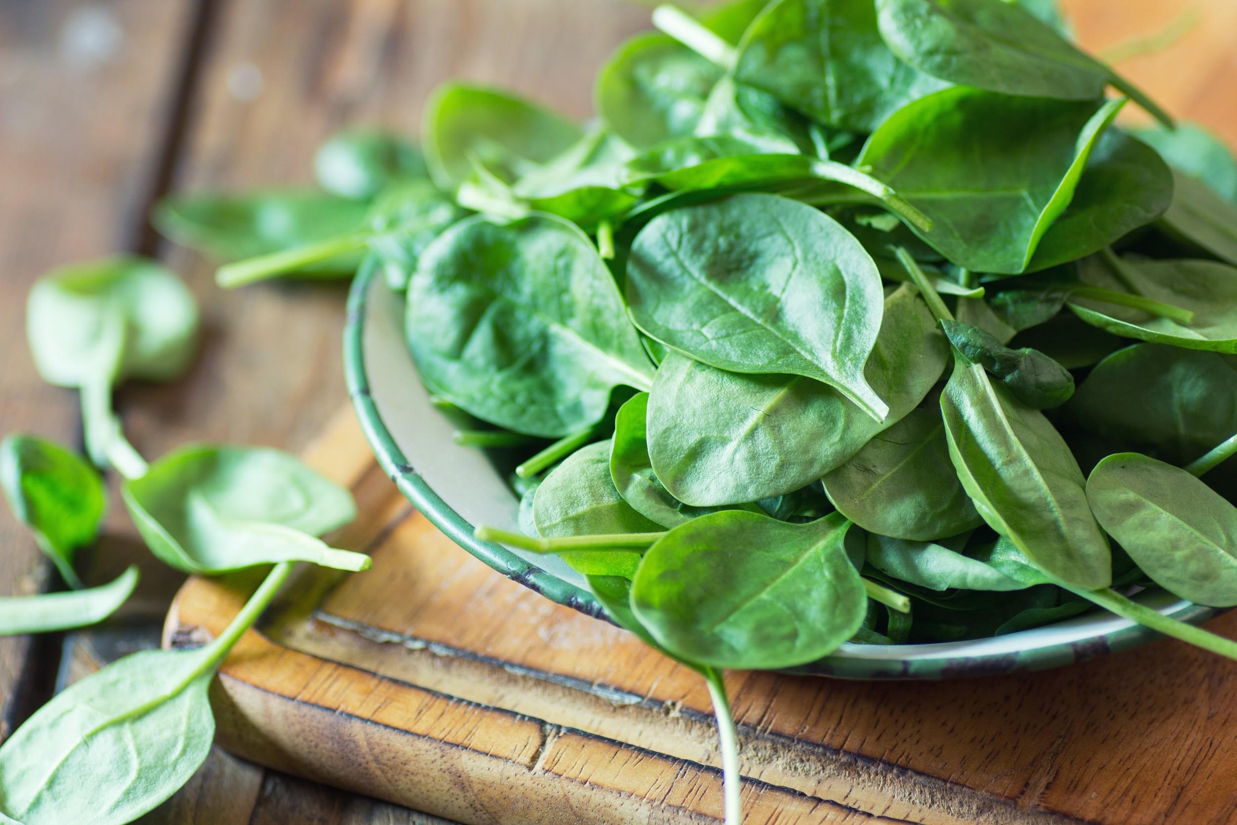 Espinafre - benefícios e nutrientes - Hortaliça - InfoEscola
