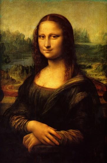 Mona Lisa, pintura de Leonardo da Vinci, 1506.