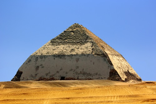 Pirâmide curvada. Foto: WitR / Shutterstock.com