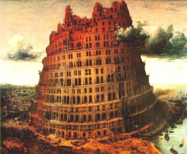 Resultado de imagem para torre de babel