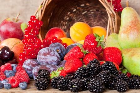 Alguns alimentos antioxidantes. Foto: © iStock.com / funix