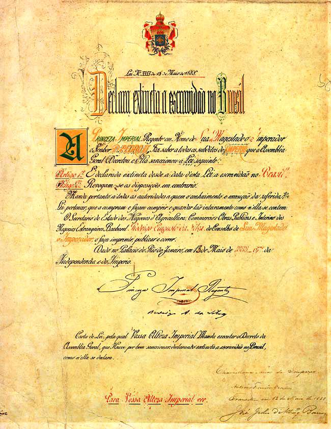 Lei Áurea (1888)