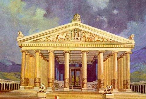 Resultado de imagem para templo de artemis