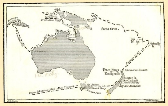 Viagens de Abel Tasman