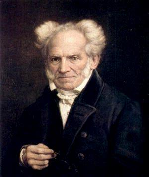 Arthur Schopenhauer. Pintura de Jules Lunteschütz, 1855.